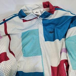 Adidas Originals Grid Block Windbreaker